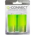 Alkalické baterie Q-Connect - MN1300, LR20, D, 2 ks