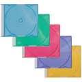 Plastové barevné kazety Q-Connect na 1 CD - 25 ks