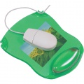 Podložka gelová pod myš Q-Connect - zelená