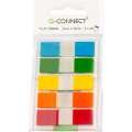 Samolepicí záložky Q-Connect - plastové, 12,5 x 43 mm, 5 barev