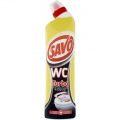 Čisticí WC gel Savo - turbo, 750 ml
