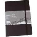 Zápisník DONAU - A5, čtverečkovaný, černý