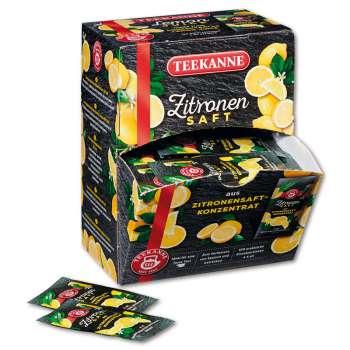 Šťáva citronová - Teekanne, 100 x 4 ml