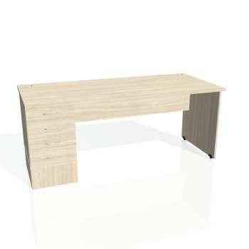 Psací stůl Hobis GATE GSK 1800 24, akát/akát
