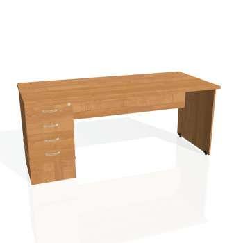 Psací stůl Hobis GATE GSK 1800 24, olše/olše
