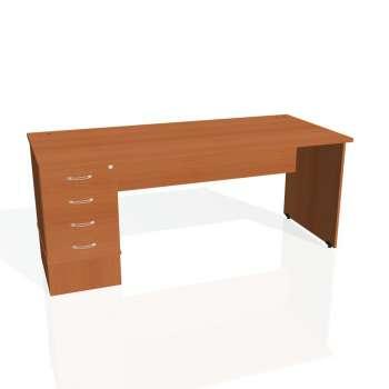 Psací stůl Hobis GATE GSK 1800 24, třešeň/třešeň