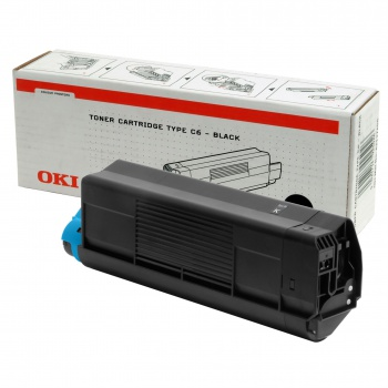 Toner OKI typ 6 - černý