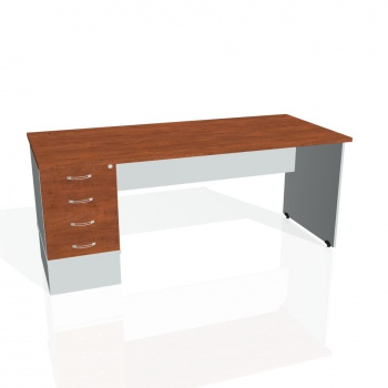 Psací stůl Hobis GATE GSK 1800 24, calvados/šedá
