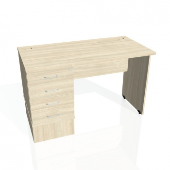 Psací stůl Hobis GATE GEK 1200 24, akát/akát
