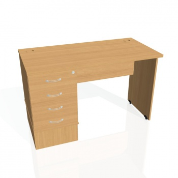 Psací stůl Hobis GATE GEK 1200 24, buk/buk