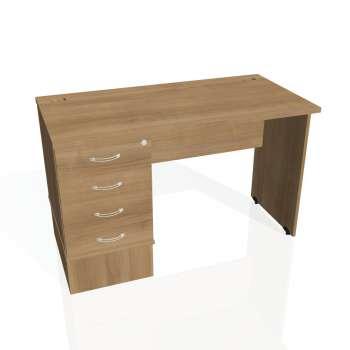 Psací stůl Hobis GATE GEK 1200 24, višeň/višeň