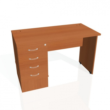 Psací stůl Hobis GATE GEK 1200 24, třešeň/třešeň