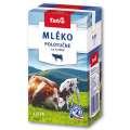 Trvanlivé mléko Tatra - polotučné, 1 l, 1,5 % tuku