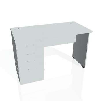 Psací stůl Hobis GATE GEK 1200 24, šedá/šedá