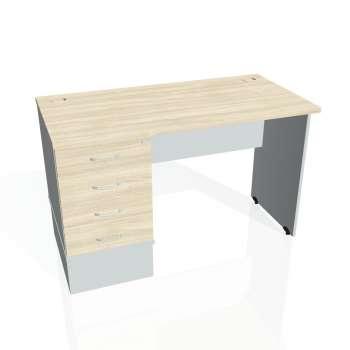 Psací stůl Hobis GATE GEK 1200 24, akát/šedá
