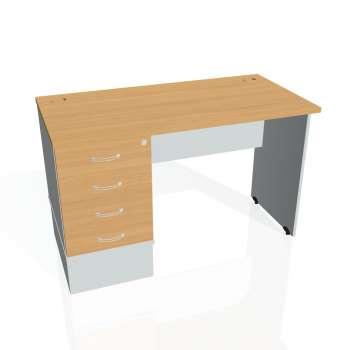 Psací stůl Hobis GATE GEK 1200 24, buk/šedá