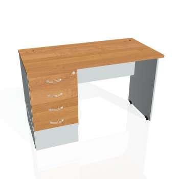 Psací stůl Hobis GATE GEK 1200 24, olše/šedá