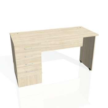 Psací stůl Hobis GATE GEK 1400 24, akát/akát
