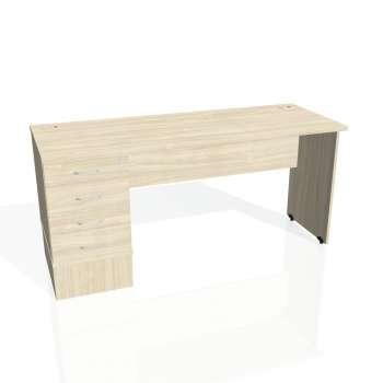 Psací stůl Hobis GATE GEK 1600 24, akát/akát