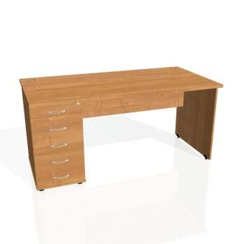 Psací stůl Hobis GATE GSK 1600 25, olše/olše