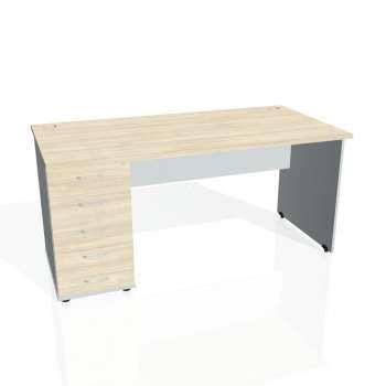 Psací stůl Hobis GATE GSK 1600 25, akát/šedá