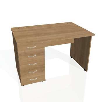 Psací stůl Hobis GATE GSK 1200 25, višeň/višeň