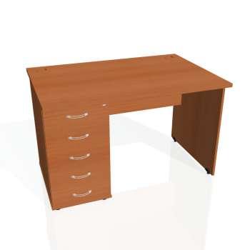 Psací stůl Hobis GATE GSK 1200 25, třešeň/třešeň