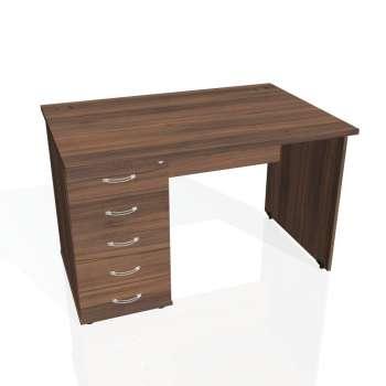 Psací stůl Hobis GATE GSK 1200 25, ořech/ořech