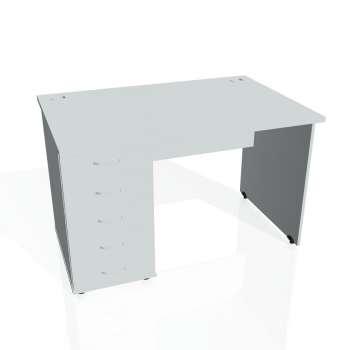 Psací stůl Hobis GATE GSK 1200 25, šedá/šedá