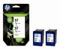 Cartridge HP C9503AE/2x57 - 3 barvy , dvojbalení