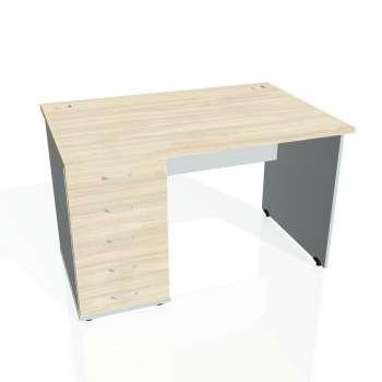 Psací stůl Hobis GATE GSK 1200 25, akát/šedá