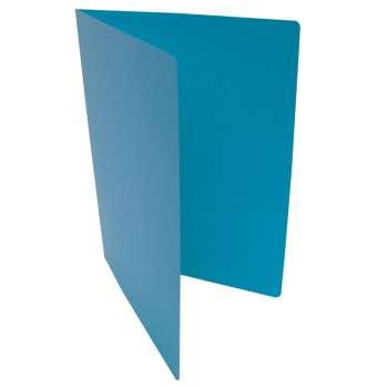 Desky papírové bez chlopní A4, modré, 20 ks