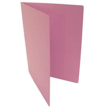 Desky papírové bez chlopní A4, růžové, 20 ks
