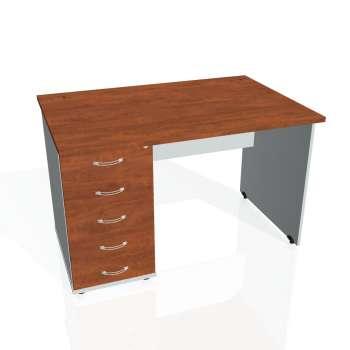 Psací stůl Hobis GATE GSK 1200 25, calvados/šedá