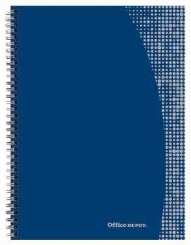 Blok Office Depot - A5+, 80 listů, linkovaný, s pevnými deskami