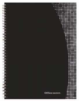 Blok Office Depot - A4+, 80 listů, čtverečkovaný, s pevnými deskami
