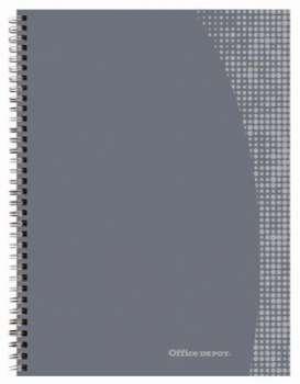 Blok Office Depot - A5+, 80 listů, čtverečkovaný, s pevnými deskami