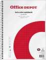Blok Office Depot - A4+, 80 listů, čtverečkovaný