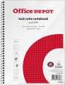 Blok Office Depot - A5+, 80 listů, čtverečkovaný