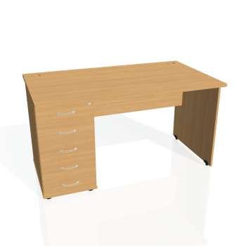 Psací stůl Hobis GATE GSK 1400 25, buk/buk