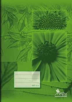 Sešit recyklovaný A4, 40 listů, čtverečkovaný