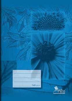 Sešit recyklovaný A5, 40 listů, čistý
