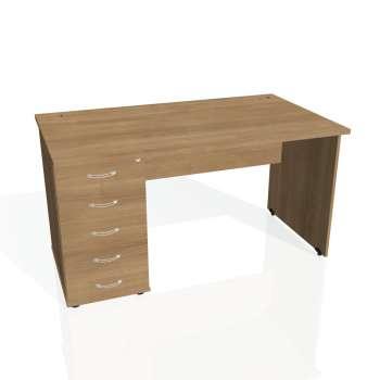 Psací stůl Hobis GATE GSK 1400 25, višeň/višeň