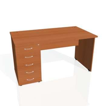 Psací stůl Hobis GATE GSK 1400 25, třešeň/třešeň