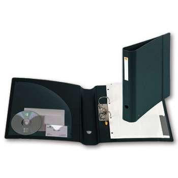 Pákový  pořadač  EXAFILE A4, černá , hřbet 6,5 cm