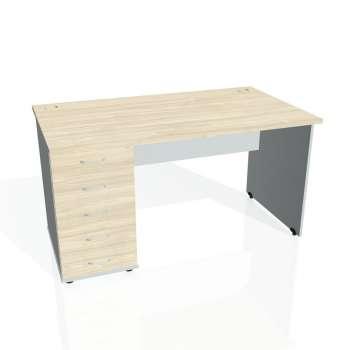 Psací stůl Hobis GATE GSK 1400 25, akát/šedá