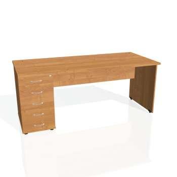 Psací stůl Hobis GATE GSK 1800 25, olše/olše