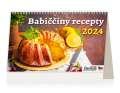 Stolní kalendář 2022 Babiččiny recepty