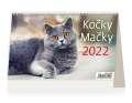 Stolní kalendář 2022 Kočky
