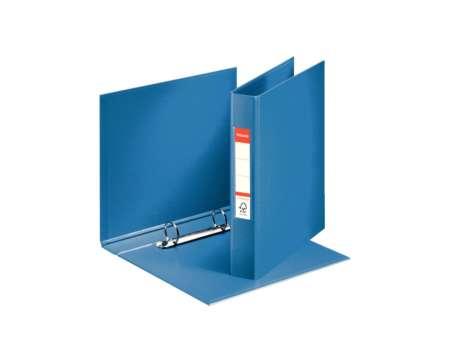 Dvoukroužkový plastový  pořadač Esselte A5, 3,5 cm, modrá